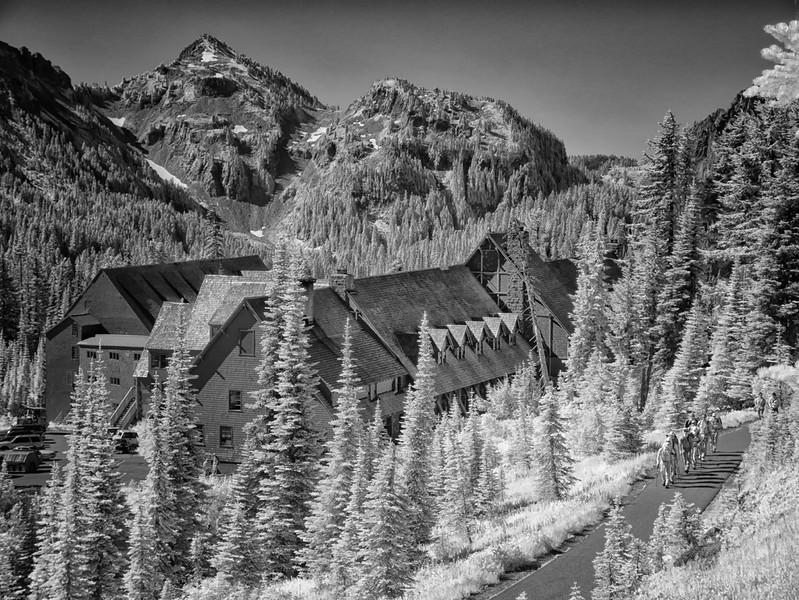 Paradise Lodge, Mt. Rainier.