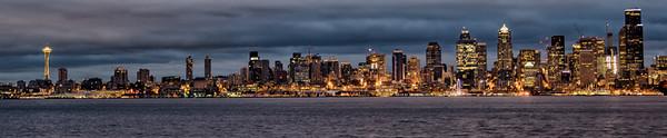 Seattle predawn.