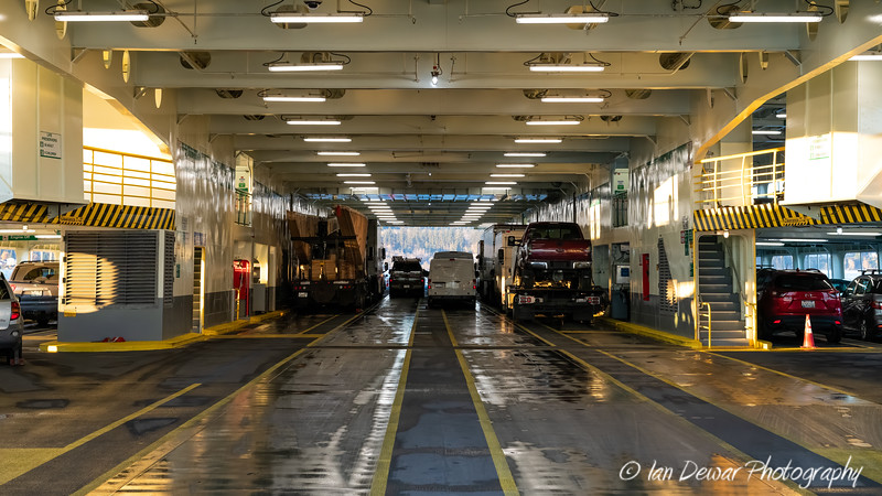 MV Spokane Car Deck