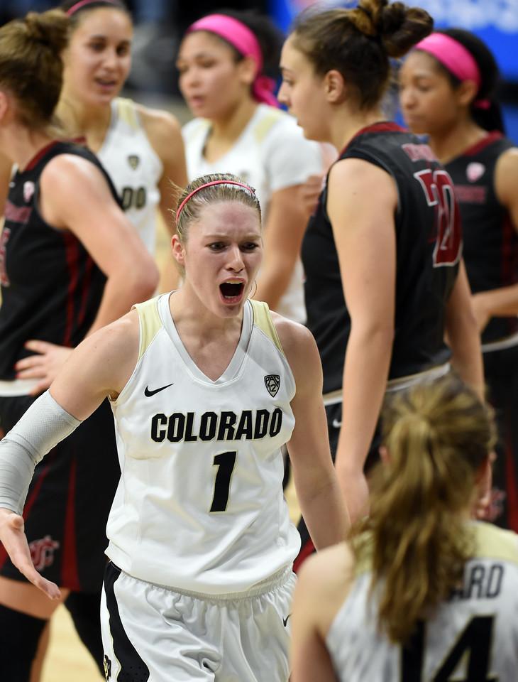 Colorado Washington State NCAA Women's Basketball