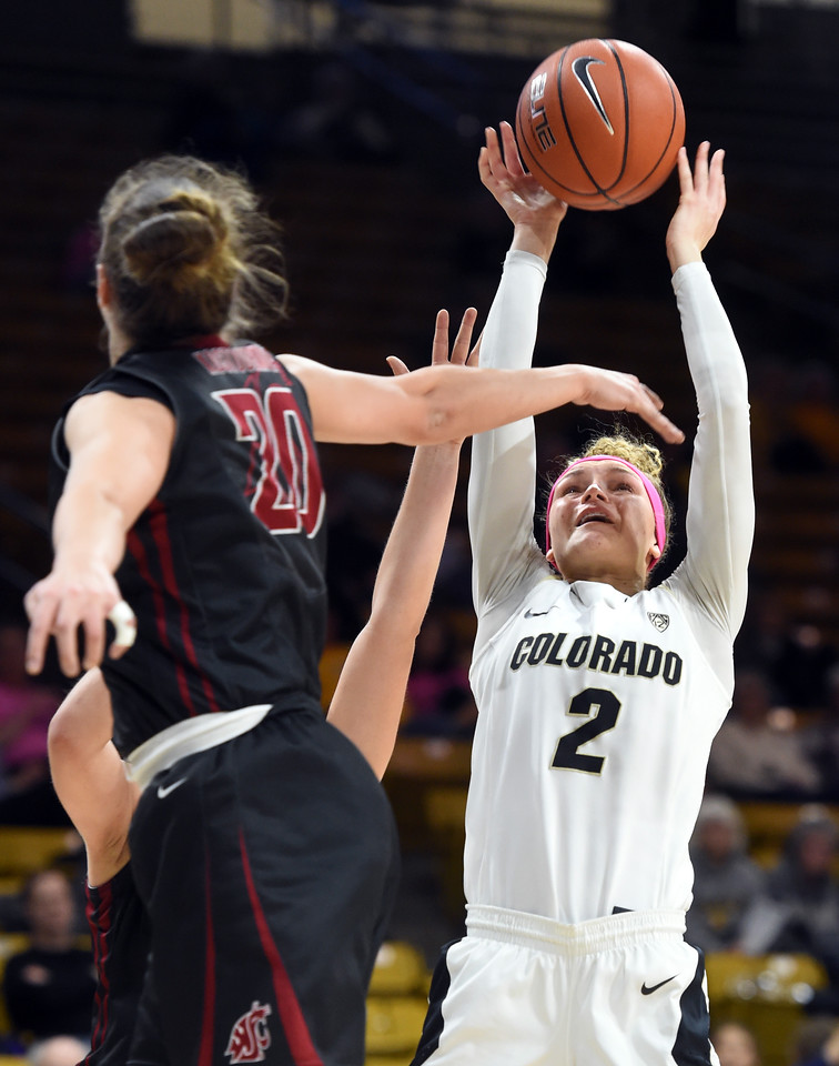 Colorado Washington State NCAA Women's Basketball