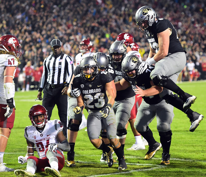 Colorado Washington State NCAA Football