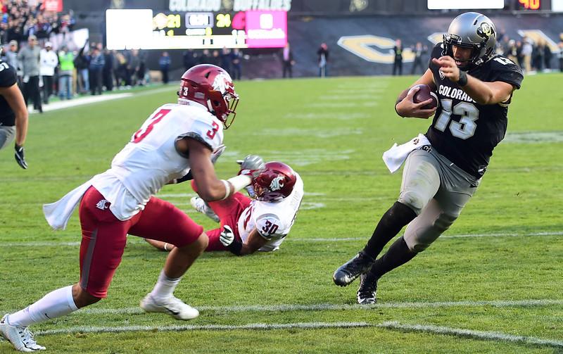 Colorado Washington State NCAA Football