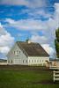 A rural farmstead near La Conner, Washington, USA.