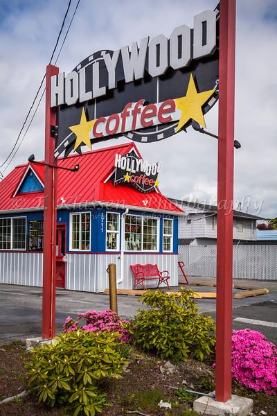 The Hollywood Coffee shop at Mount Vernon, Washington, USA.