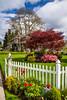 A Skagit River Valley country home near Mount Vernon, Washington, USA.