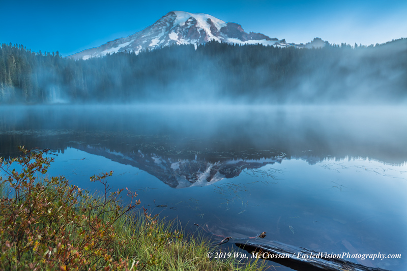 Reflection Lake, Mt. Rainier N.P.