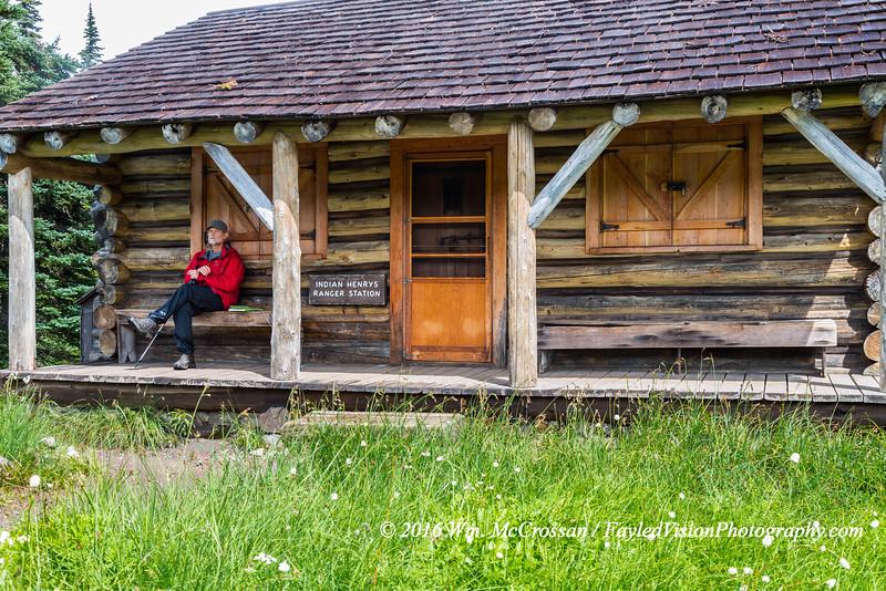 Indian Henry's Patrol Cabin