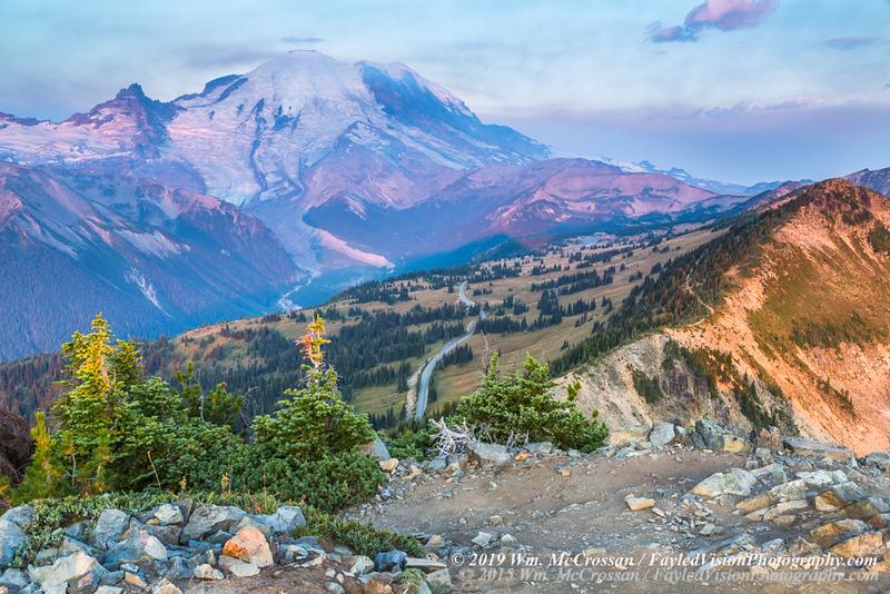 Dege Peak & Sourdough Ridge Trail, Mt. Rainier Nat'l Park