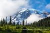 Mt. Rainier from Paradise Visitor Center