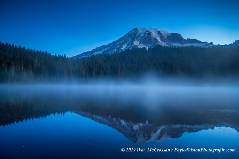 Reflection Lake, Mt. Rainier N.P.