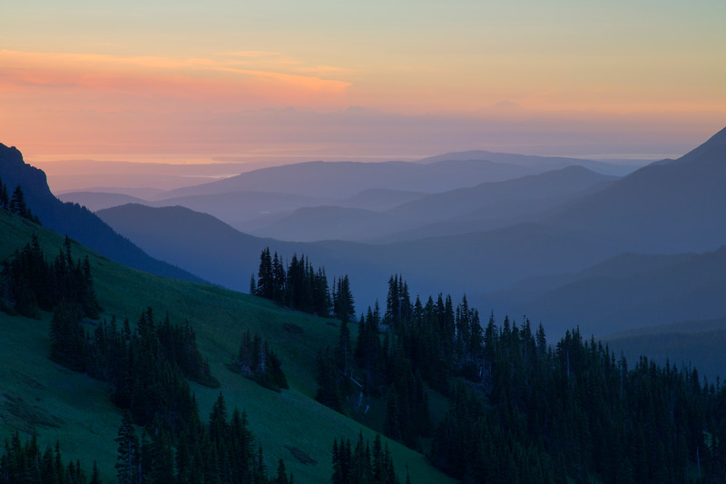 Sunrise from Hurricane Ridge