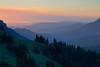 Sunrise from Hurricane Ridge