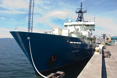 Woods Hole Atlantis Oceanic Research Ship