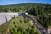 The Alder Lake Dam project, hydro-electric facility near Alder, Washington, USA.