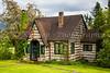 A rustic rural mountain home in the Cascades near Eatonville, Washington, USA.