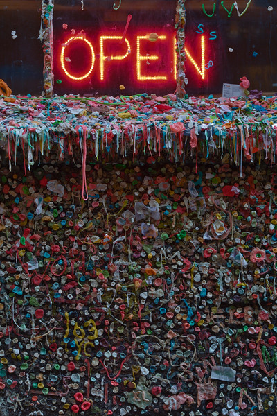 Gum Wall, Seattle, Washington