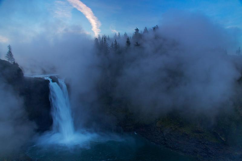 Snoqualmie Falls, North Bend, Washington