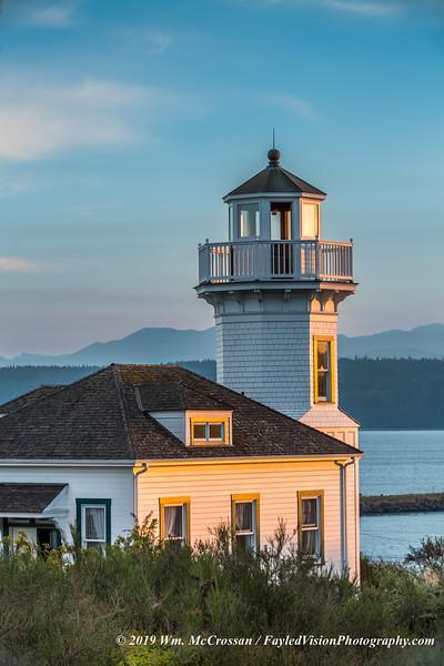 Dimick Lighthouse, Port Townsend, WA