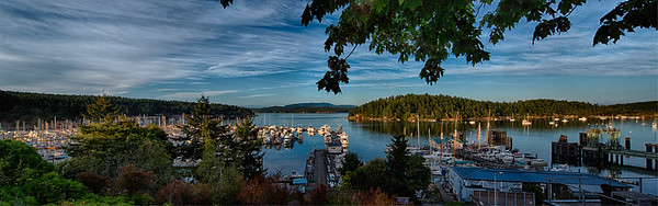 Friday Harbor Evening