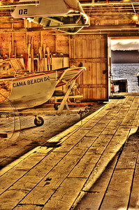Cama Boathouse: at Cama Beach State Park.