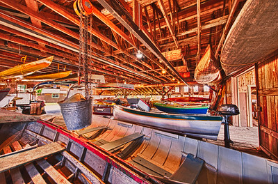 Boathouse Bucket: inside the Cama Beach Boathouse on Camano Island