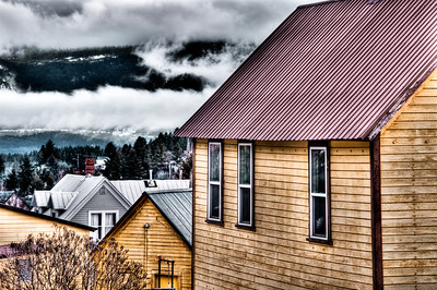 Rooftops of Roslyn: Roslyn, Washington.