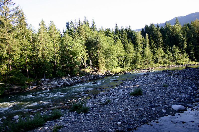South fork of the Stillaguamish River