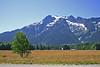 Farm land below the Glacier Peaks