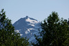 The access road to Mount Pilchuck has been repaired allowing spectacular views of  the mountain peaks above the Stillaguamish River basin. Mid July and there is still some snow remaining.