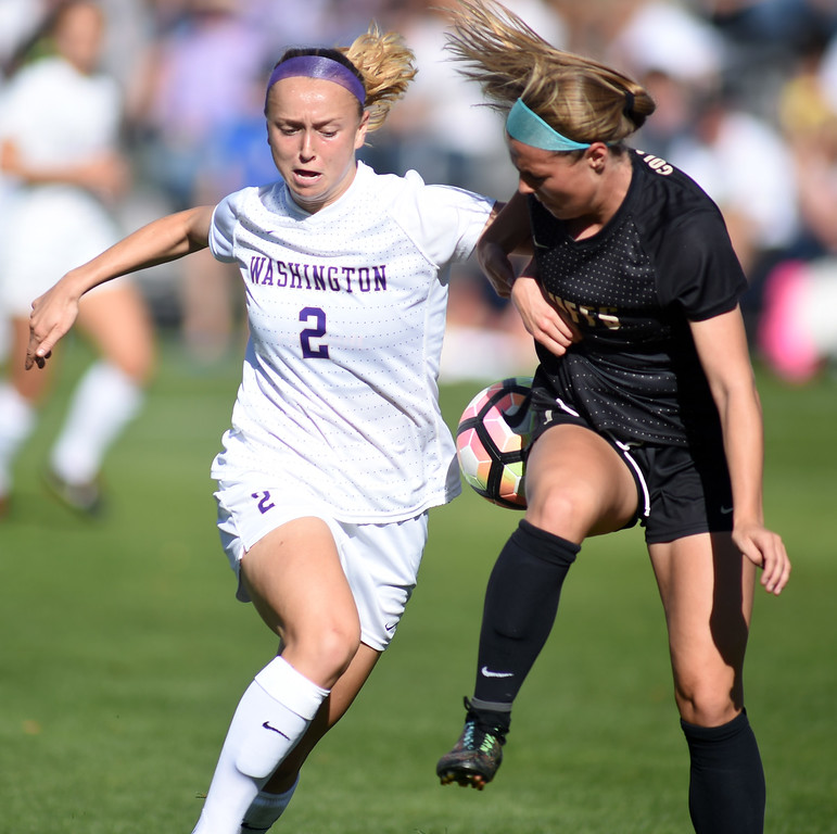 Colorado Washington NCAA Soccer