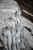 Kittitas, Bean Creek - Wall of snow with sun cups on Bean Peak summit