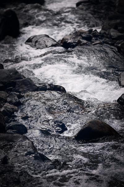 Kittitas, Bean Creek - Rushing waters of Bean Creek