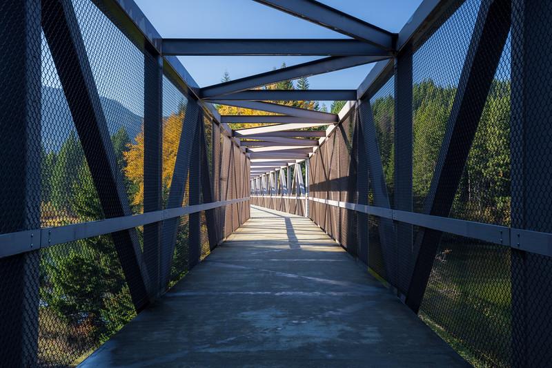 Easton, Lake - Old train bridge on Iron Horse Trail