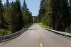 Kittitas, Teanaway - North Fork Teanaway Road on a sunny day