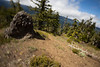 Kittitas, Mt. Baldy - Rotated camera motion on trail