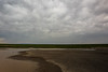 Columbia, Mattawa - Distant lightning strike and a farm