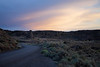 Columbia, Vantage - Sunset at Frenchman Coulee