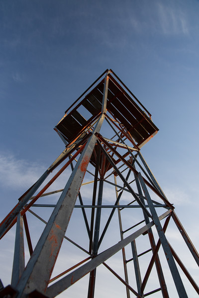 Kittitas, Kachess Beacon - View of the beacon from below