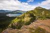 Kittitas, Mt. Baldy - View of Kachess Lake, sunny