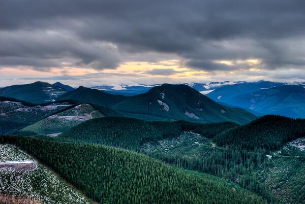 Kelly Butte Trail Views