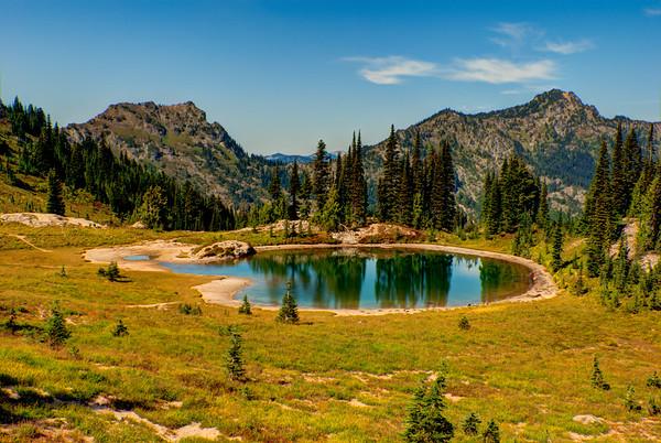 Naches Peak Loop Lake