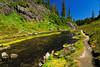 Bagley Lakes trail