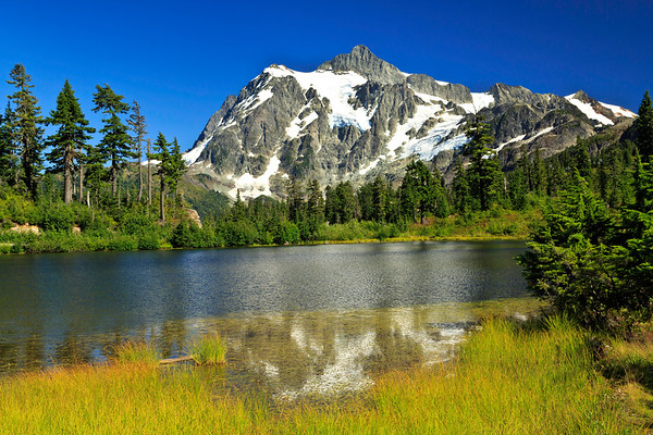 Mount Baker - Snoqualmie National Forest (Picture Lake and Artist's Point)