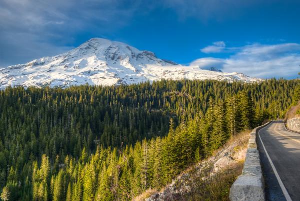 Road to Mount Rainier