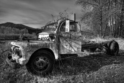 This truck was so cool, it was near the church so of course I had to photograph it.  I played with it in photoshop with editing and filters, and can't decide which of the 3 images is my favorite.