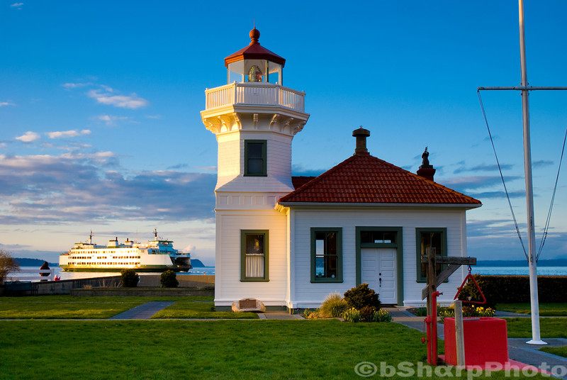 Taken from Mukilteo Lighthouse Park, Washington