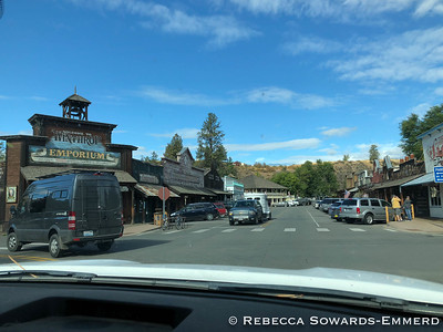 Washington has no shortage of quaint theme towns. Winthrop has an old west vibe.