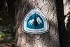 Harts Pass, Tatie Peak - Pacific Crest Trail sign