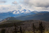 Pasayten, Horseshoe Basin - Apex Mountain seen in the distance with burned forest in the foreground